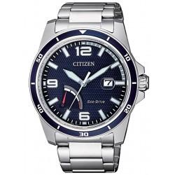 Citizen Мужские Часы Marine Eco-Drive AW7037-82L