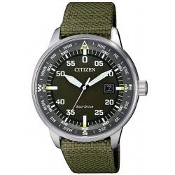 Купить Citizen Мужские Часы Aviator Eco-Drive BM7390-22X