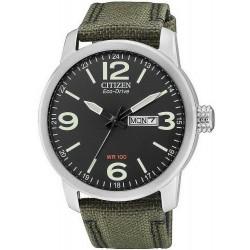 Купить Citizen Мужские Часы Military Eco-Drive BM8470-11E