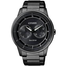 Citizen Мужские Часы Style Eco-Drive BU4005-56H Многофункциональный