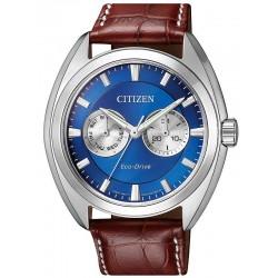 Citizen Мужские Часы Style Eco-Drive BU4011-11L Многофункциональный
