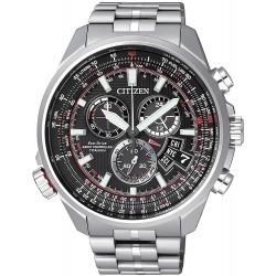 Купить Citizen Мужские Часы Promaster The Pilot Радиоуправляемые Титан BY0120-54E