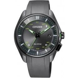 Купить Citizen Мужские Часы Радиоуправляемые Bluetooth Super Titanium BZ4005-03E