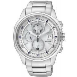 Citizen Мужские Часы Хроно Eco-Drive CA0370-54B