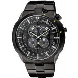 Купить Citizen Мужские Часы Bullhead Хроно Eco-Drive CA0485-52E