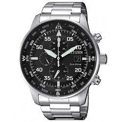 Купить Citizen Мужские Часы Aviator Хроно Eco-Drive CA0690-88E