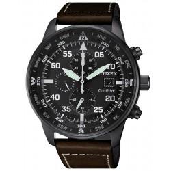 Купить Citizen Мужские Часы Aviator Хроно Eco-Drive CA0695-17E