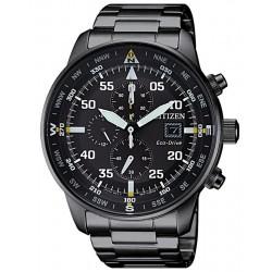 Купить Citizen Мужские Часы Aviator Хроно Eco-Drive CA0695-84E