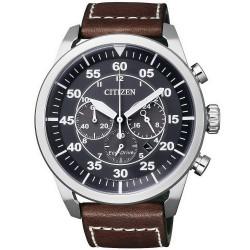 Купить Citizen Мужские Часы Aviator Хроно Eco-Drive CA4210-16E