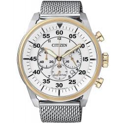 Купить Citizen Мужские Часы Aviator Хроно Eco-Drive CA4214-58A