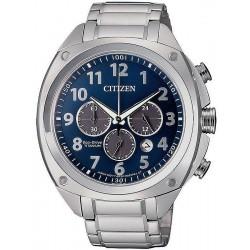 Citizen Мужские Часы Super Titanium Хроно Eco-Drive CA4310-54L