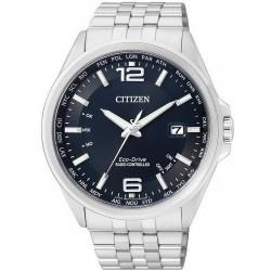 Купить Citizen Мужские Часы Радиоуправляемые Evolution 5 Eco-Drive CB0010-88L
