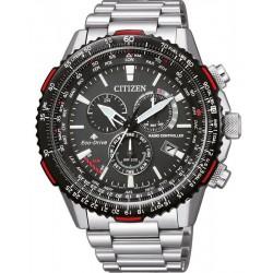 Купить Citizen Мужские Часы Радиоуправляемые Chrono Pilot CB5001-57E