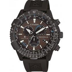 Купить Citizen Мужские Часы Радиоуправляемые Chrono Pilot CB5005-13X
