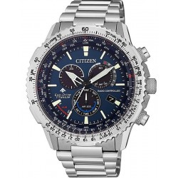 Купить Citizen Мужские Часы Радиоуправляемые Chrono Pilot Super Titanium CB5010-81L