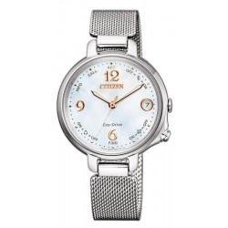 Купить Citizen Женские Часы Радиоуправляемые Bluetooth Lady Eco-Drive EE4030-85D