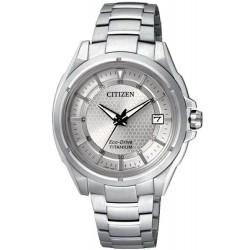 Citizen Женские Часы Super Titanium Eco-Drive FE6040-59A
