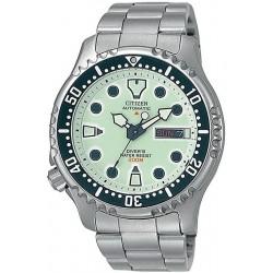 Купить Citizen Мужские Часы Promaster Diver's Automatic 200M NY0040-50W