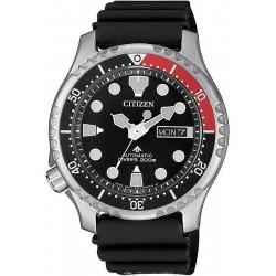 Купить Citizen Мужские Часы Promaster Diver's Automatic 200M NY0085-19E