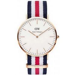 Купить Daniel Wellington Мужские Часы Classic Canterbury 40MM DW00100002
