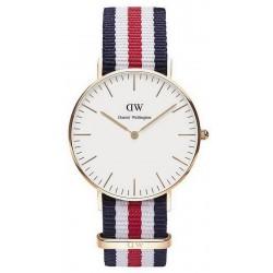 Купить Daniel Wellington Унисекс Часы Classic Canterbury 36MM DW00100030