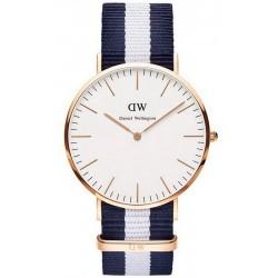 Купить Daniel Wellington Унисекс Часы Classic Glasgow 36MM DW00100031