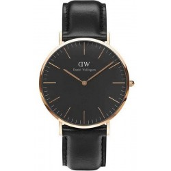 Купить Daniel Wellington Мужские Часы Classic Black Sheffield 40MM DW00100127