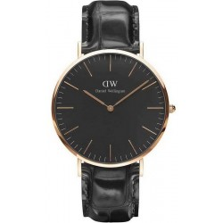 Купить Daniel Wellington Мужские Часы Classic Black Reading 40MM DW00100129