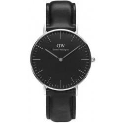 Купить Daniel Wellington Унисекс Часы Classic Black Sheffield 36MM DW00100145