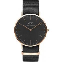 Купить Daniel Wellington Мужские Часы Classic Black Cornwall 40MM DW00100148