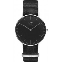 Купить Daniel Wellington Унисекс Часы Classic Black Cornwall 36MM DW00100151