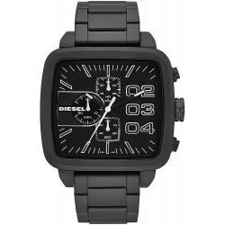 Купить Diesel Мужские Часы Double Down Square DZ4300 Хронограф
