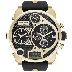 Diesel Мужские Часы Mr. Daddy DZ7323 Хронограф 4 Часовых Пояса