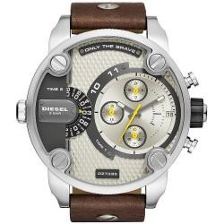 Diesel Мужские Часы Little Daddy DZ7335 Хронограф 2 Часовых Пояса