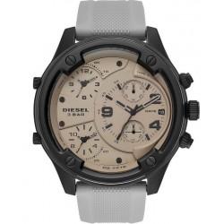 Купить Diesel Мужские Часы Boltdown DZ7416 Хронограф 3 Часовых Пояса