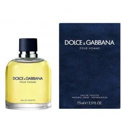 Dolce & Gabbana Pour Homme Мужские Аромат Eau de Toilette EDT 75 ml