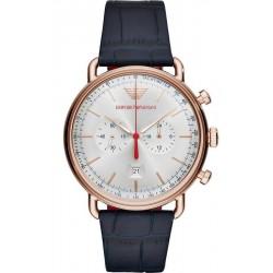 Купить Emporio Armani Мужские Часы Aviator AR11123 Хронограф