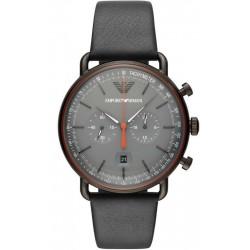 Купить Emporio Armani Мужские Часы Aviator AR11168 Хронограф