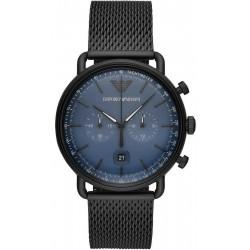 Купить Emporio Armani Мужские Часы Aviator AR11201 Хронограф
