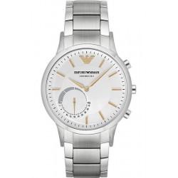 Купить Emporio Armani Connected Мужские Часы Renato ART3005 Hybrid Smartwatch
