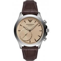 Купить Emporio Armani Connected Мужские Часы Alberto ART3014 Hybrid Smartwatch