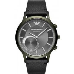 Купить Emporio Armani Connected Мужские Часы Renato ART3021 Hybrid Smartwatch