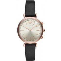 Купить Emporio Armani Connected Женские Часы Gianni T-Bar ART3027 Hybrid Smartwatch