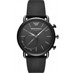 Купить Emporio Armani Connected Мужские Часы Aviator ART3030 Hybrid Smartwatch