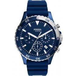 Купить Fossil Мужские Часы Crewmaster CH3054 Кварцевый Хронограф