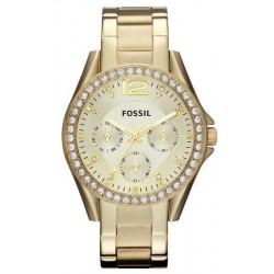Купить Fossil Женские Часы Riley ES3203 Многофункциональный