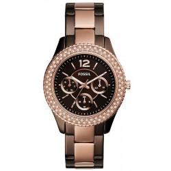 Купить Fossil Женские Часы Stella ES4079 Многофункциональный
