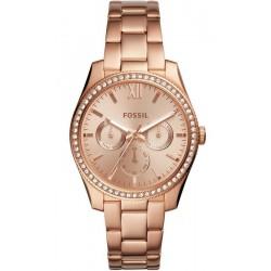 Купить Fossil Женские Часы Scarlette ES4315 Многофункциональный
