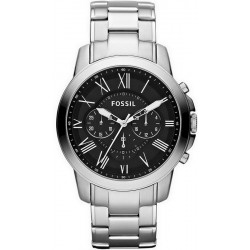 Купить Fossil Мужские Часы Grant FS4736 Кварцевый Хронограф