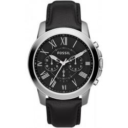Fossil Мужские Часы Grant FS4812 Кварцевый Хронограф